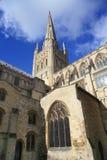 大教堂诺威治 免版税库存图片