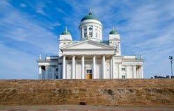 大教堂赫尔辛基 芬兰 图库摄影