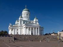 大教堂赫尔辛基 图库摄影