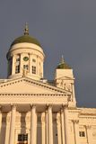 大教堂赫尔辛基 库存照片