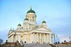大教堂赫尔辛基 库存图片