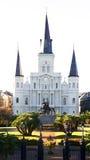 大教堂路易斯・新奥尔良st 图库摄影