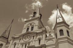 大教堂路易斯st 免版税库存图片