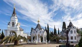 大教堂迈克尔s圣徒 索契 俄国 免版税库存照片
