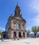 大教堂遗产列表摩洛哥站点科教文组织volubilis世界 弗朗西斯教皇促进了圣所教会对大教堂 免版税库存照片