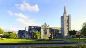 大教堂都伯林爱尔兰帕特里克圣徒 库存图片