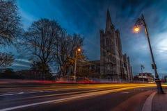 大教堂都伯林爱尔兰帕特里克s st 库存照片