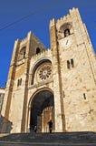 大教堂里斯本葡萄牙se 图库摄影