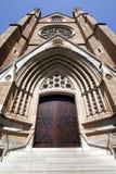 大教堂门入口玛丽s st 免版税库存照片