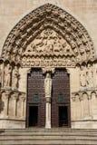 大教堂门道入口 库存照片