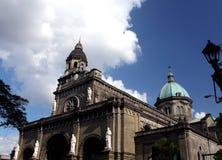 大教堂马尼拉 免版税库存照片