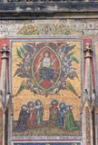 大教堂马赛克s st vitus 免版税库存图片