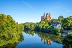 大教堂,兰河畔林堡 免版税库存图片