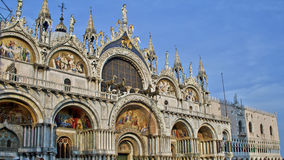 大教堂,威尼斯,意大利 库存图片