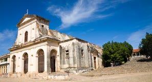 大教堂,特立尼达,古巴 免版税库存照片