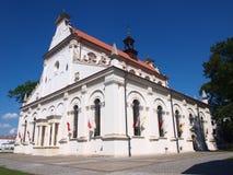 大教堂, ZamoÅ› Ä ‡,波兰 免版税库存照片