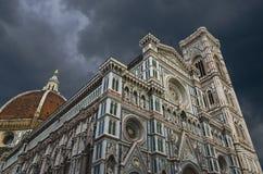 大教堂(中央寺院)佛罗伦萨-托斯卡纳(意大利) 库存照片