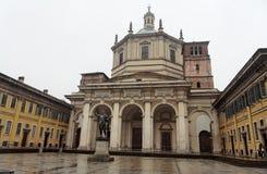 大教堂洛伦佐・米兰圣 库存图片