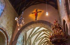 大教堂-斯塔万格挪威 免版税库存照片
