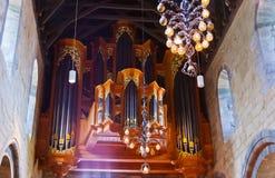 大教堂-斯塔万格挪威 库存照片