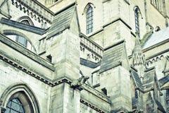 大教堂建筑学 库存图片