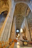 1270 1435年大教堂建筑完成了开始的乌普萨拉工作 图库摄影