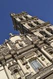 大教堂细节在蒙特雷墨西哥 免版税库存照片