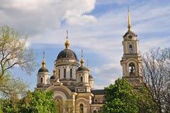 大教堂 顿涅茨克,乌克兰 库存照片