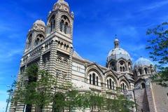 大教堂-马赛 免版税库存图片