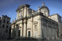 大教堂2,杜布罗夫尼克 库存图片