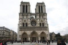 巴黎大教堂  库存图片