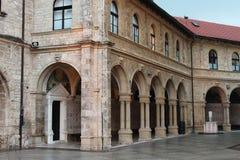 大教堂Bistrica-Marija Bistrica玛丽  免版税库存图片