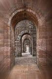 大教堂bom走廊耶稣 免版税图库摄影