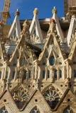 大教堂Cagrada Familia 免版税库存照片