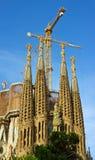 大教堂Cagrada Familia 免版税库存图片