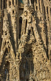 大教堂Cagrada Familia 图库摄影
