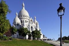 大教堂coeur巴黎sacr 图库摄影