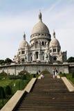 大教堂coeur神圣重点的sacr 库存图片
