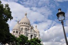 大教堂coeur du巴黎sacre 库存图片