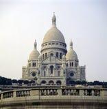 大教堂coeur sacre 免版税图库摄影