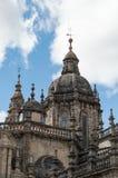 大教堂compostela de圣地亚哥西班牙 库存照片