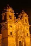 大教堂cusco 图库摄影
