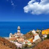 大教堂de坎德拉里亚角在加那利群岛的特内里费岛 图库摄影