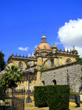 大教堂de弗隆特里赫雷斯la萨尔瓦多圣&#1253 免版税库存照片
