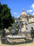 大教堂de弗隆特里赫雷斯la萨尔瓦多圣&#1253 库存图片