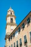 大教堂dei Santi Gervasio e Protasio钟楼(大约1118 图库摄影