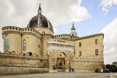 大教堂della圣诞老人住处 免版税库存照片