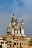 大教堂della玛丽亚致敬圣诞老人威尼斯 免版税库存图片