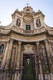 大教堂della Collegiata,卡塔尼亚,西西里岛,意大利 图库摄影