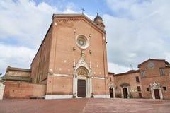 大教堂di圣弗朗切斯科 免版税图库摄影